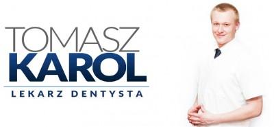 Lekarz dentysta Tomasz Karol